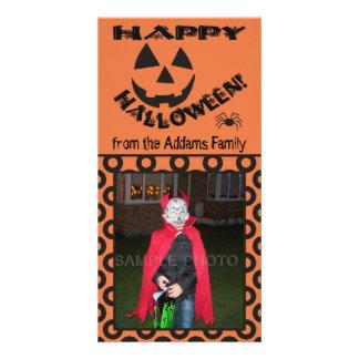 Tarjetas personalizadas feliz Halloween divertido  Tarjetas Fotograficas Personalizadas