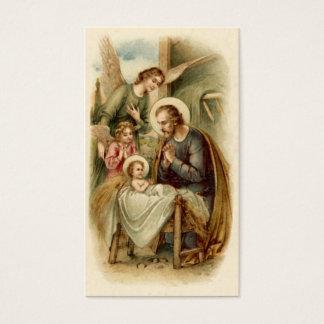 Tarjetas santas (cita): Natividad de San José