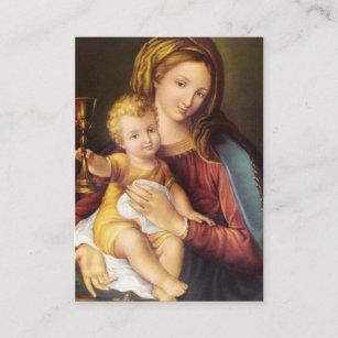 Tarjetas santas preciosas del St. Gertrudis de
