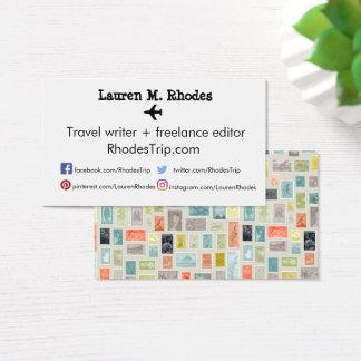 Tarjetas temáticas del sello del Blogger del