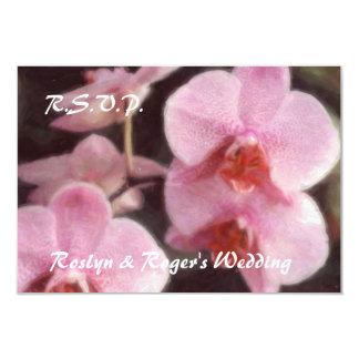 Tarjetas tropicales hawaianas de RSVP de la Invitación 8,9 X 12,7 Cm