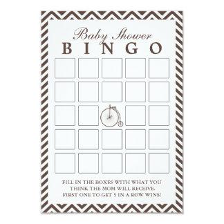 Tarjetas viejas del bingo de la fiesta de invitación 8,9 x 12,7 cm