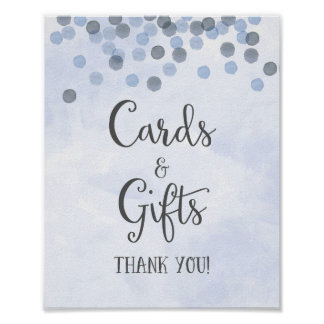 Tarjetas y regalos que casan la impresión del