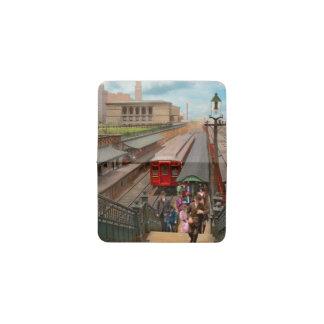 Tarjetero Ciudad - Chicago - la estación 1907 de la calle de