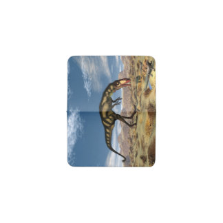 Tarjetero Dinosaurio de Dilong - 3D rinden