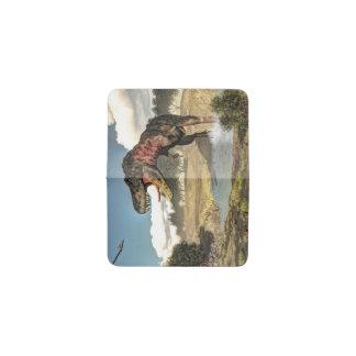 Tarjetero Dinosaurio de Tarbosaurus - 3D rinden
