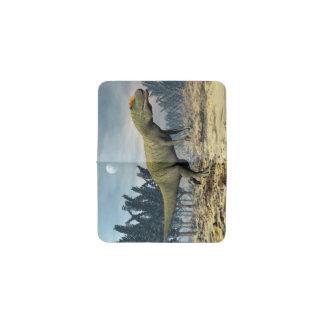 Tarjetero Dinosaurio del Allosaurus - 3D rinden