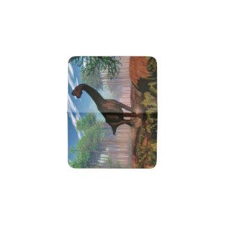 Tarjetero Dinosaurio del Brachiosaurus - 3D rinden