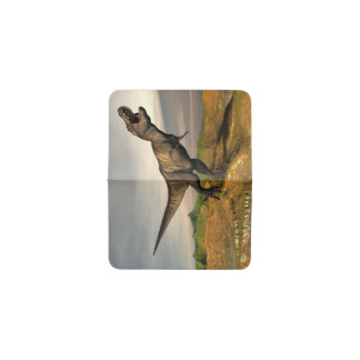 Tarjetero Dinosaurio del rex del Tyrannosaurus - 3D rinden