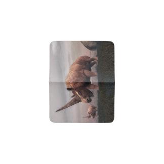 Tarjetero Dinosaurios del mamífero de Elasmotherium - 3D