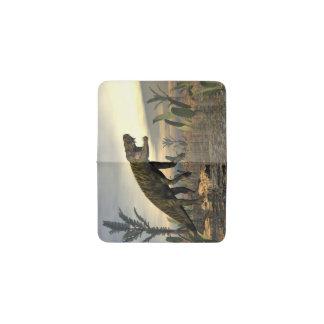 Tarjetero El dinosaurio -3D de Batrachotomus rinde
