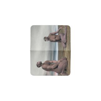 Tarjetero Pares de homo erectus - 3D rinden