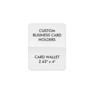 Tarjetero Tarjeta personalizada personalizado, plantilla del
