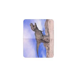 Tarjetero Tyrannosaurus que ruge - 3D rinden