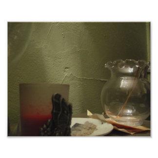 Tarro cristalino arte con fotos