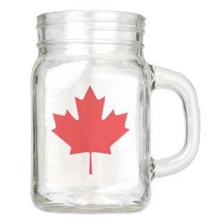 Tarro Hoja de arce canadiense