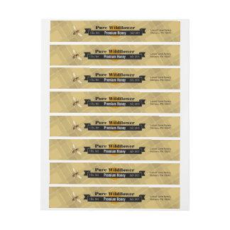 Tarro puro modificado para requisitos particulares pegatinas postales