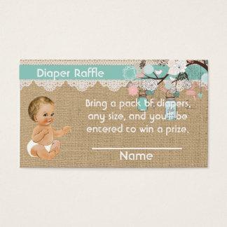Tarros del bebé y de albañil del vintage del parte tarjeta de negocios