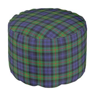 Tartán azulverde del estilo escocés de Murray del Puf