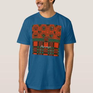 Tartán del escocés de la tela escocesa del clan de camisas