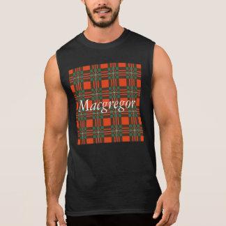 Tartán del escocés de la tela escocesa del clan de camiseta sin mangas