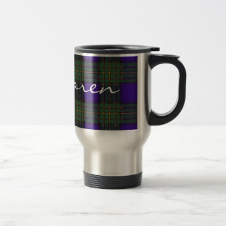Tartán del escocés de Maclaren Taza