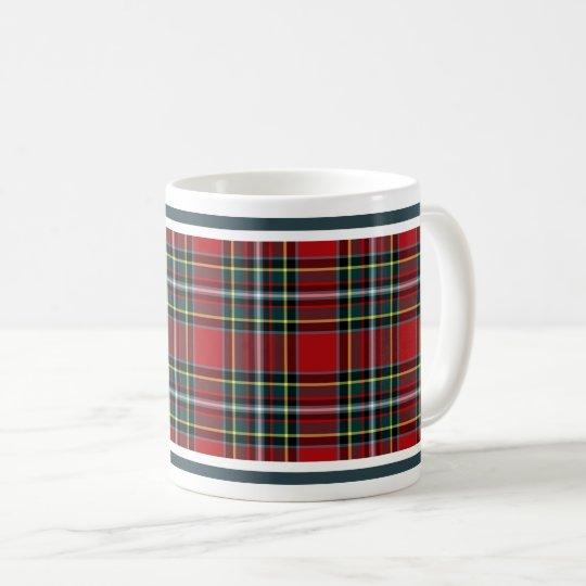 Tartán del escocés del clan de Gillespie Taza De Café