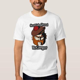 Tartán orgulloso escocés de McGregor del clan Camiseta