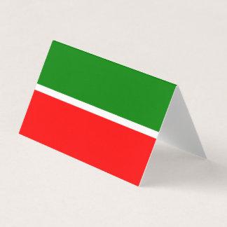 Tartaristán señala por medio de una bandera tarjeta de visita