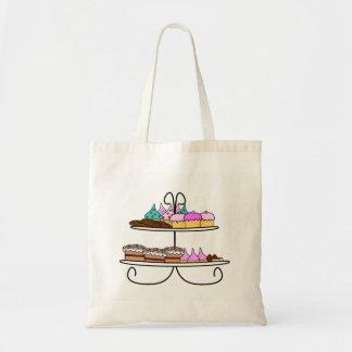 Tas cupcake bolso de tela