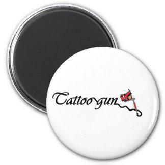 tattoogun imán redondo 5 cm