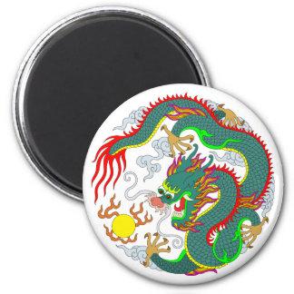 Tatuaje 1 del dragón imán para frigorifico