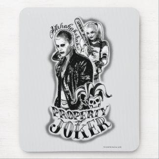 Tatuaje del aerógrafo del comodín y de Harley del Alfombrilla De Ratón