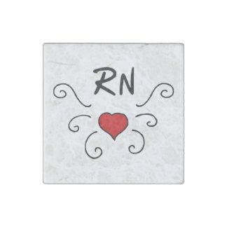 Tatuaje del amor de la enfermera del RN Imán De Piedra