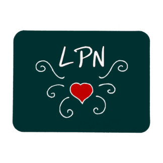 Tatuaje del amor de LPN Imán
