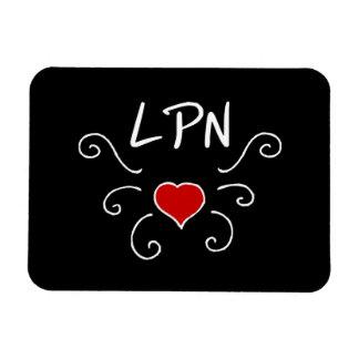 Tatuaje del amor de LPN Imanes Flexibles