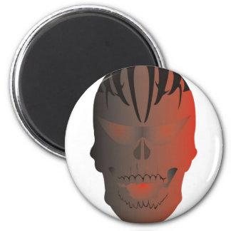 Tatuaje del cráneo imanes