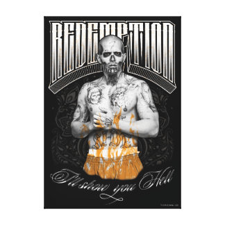 """Tatuaje del """"rescate"""" del EL Diablo del pelotón el Impresión En Lienzo"""