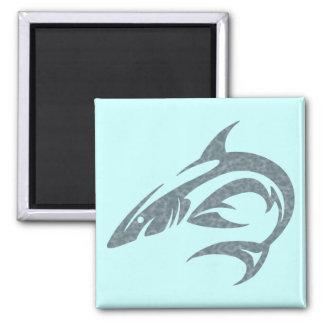 Tatuaje del tiburón imanes para frigoríficos