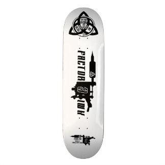 Tatuaje sk8 del】 del logotipo de la máquina del tabla de patinar