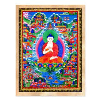Tatuaje tibetano oriental fresco Mahavairocana del Postal