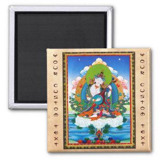 Tatuaje tibetano oriental fresco Saraswati del tha Imán Cuadrado