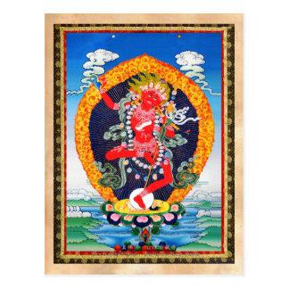 Tatuaje tibetano oriental fresco Vajravarahi del Postal