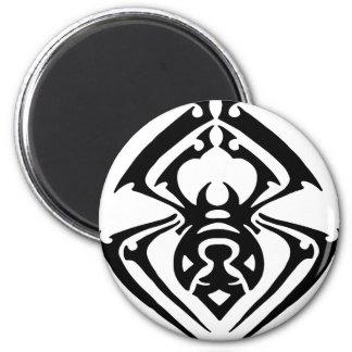 Tatuaje tribal de la araña imán de frigorifico