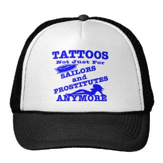 Tatuajes no apenas para los marineros y las prosti gorras