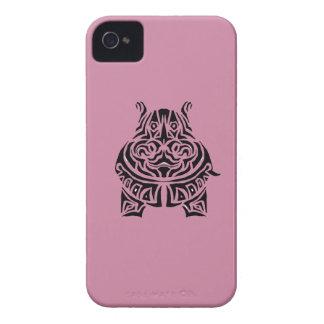Tatuajes tribales exquisitamente juguetones carcasa para iPhone 4 de Case-Mate