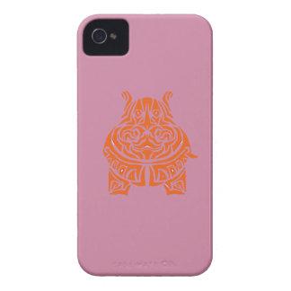 Tatuajes tribales exquisitamente juguetones funda para iPhone 4