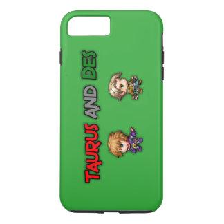 Tauro y caja del teléfono del DES Funda iPhone 7 Plus