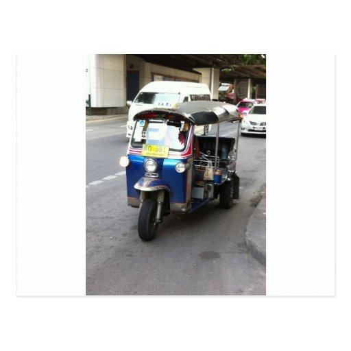 ¿Taxi cualquier persona? Tarjeta Postal