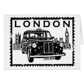 Taxi de Londres Tarjeta De Felicitación